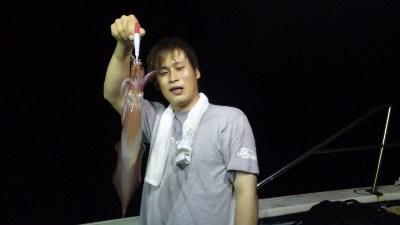 イカ釣り!!(8月21日〜22日)